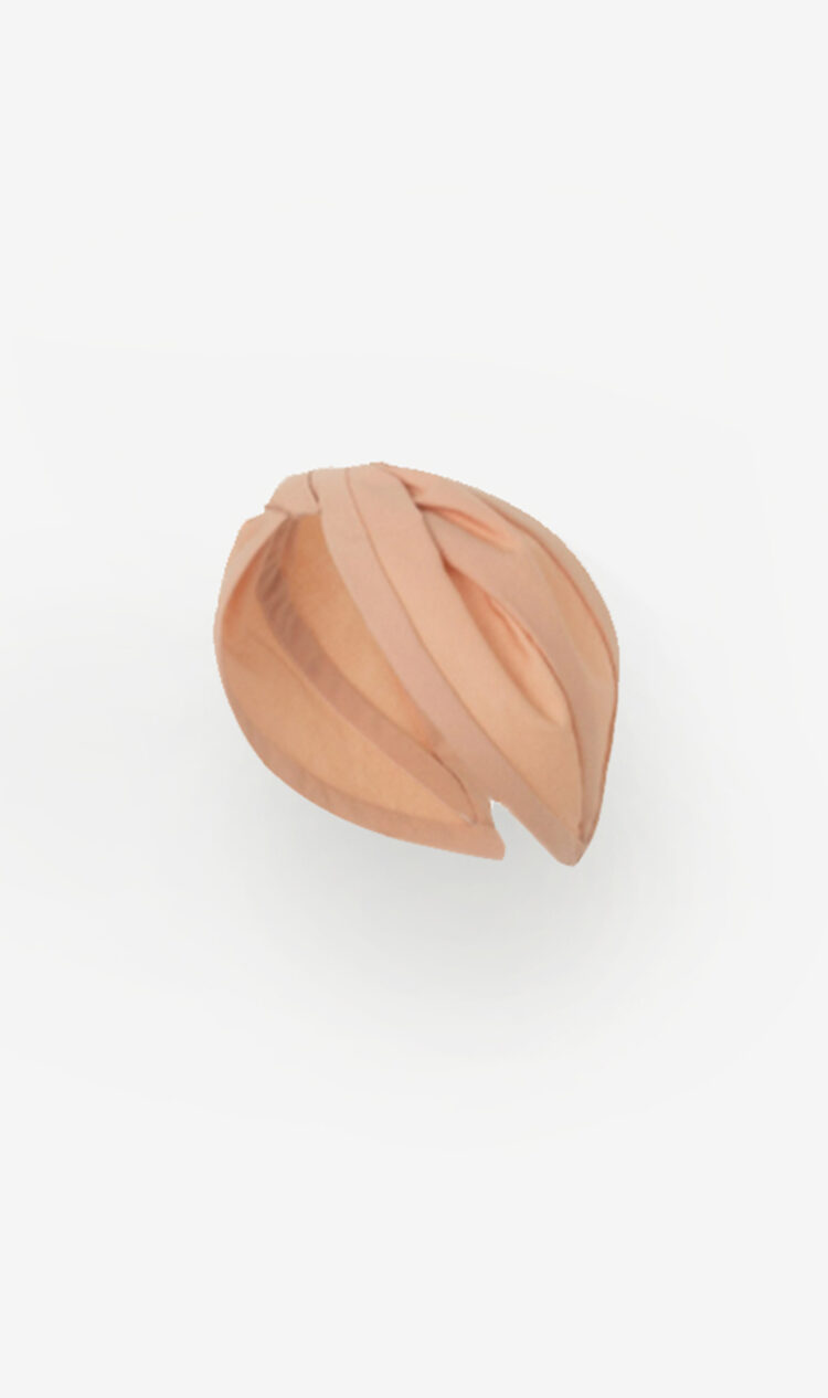 Blush cotton headband