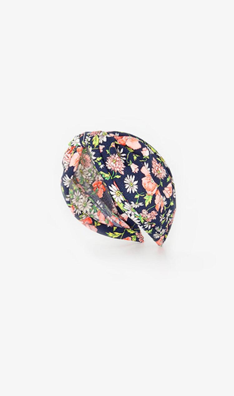 Dark floral headband