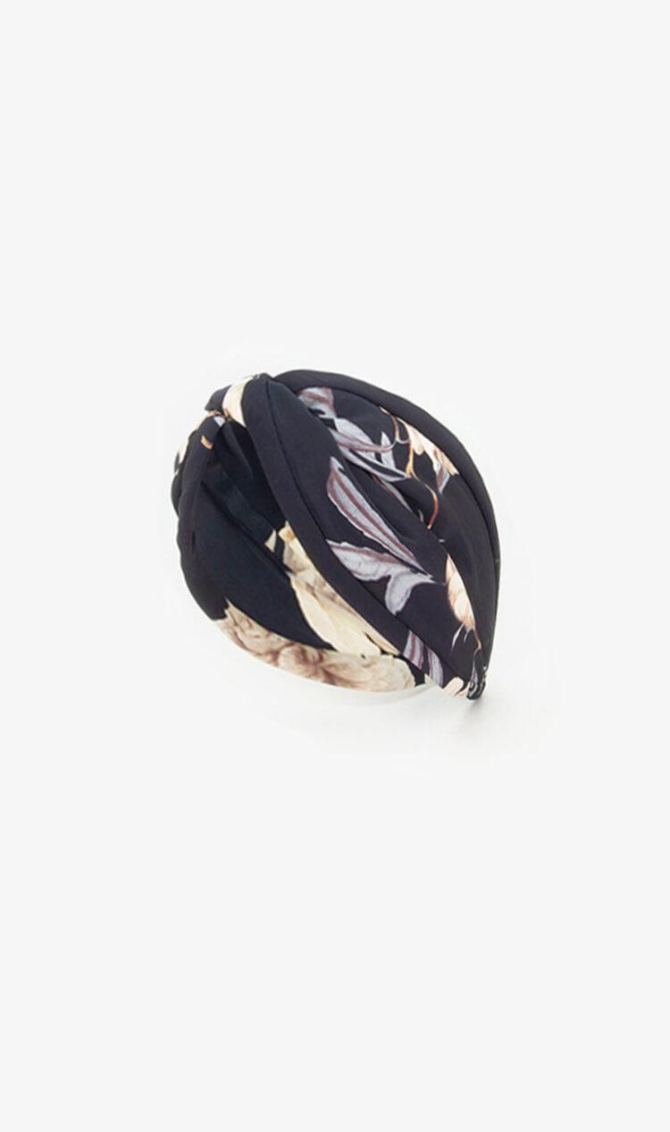 Dark tropical headband