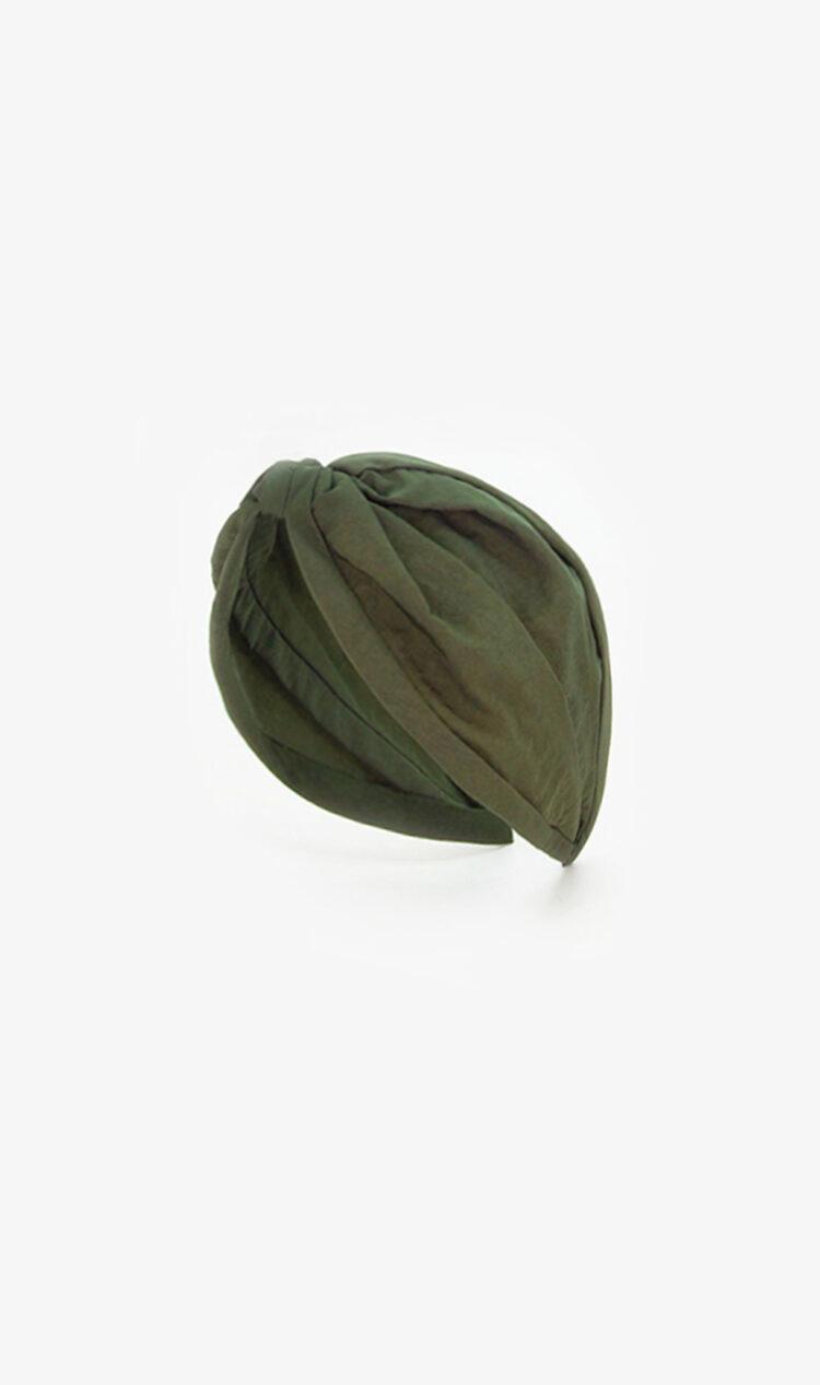 Military green headband