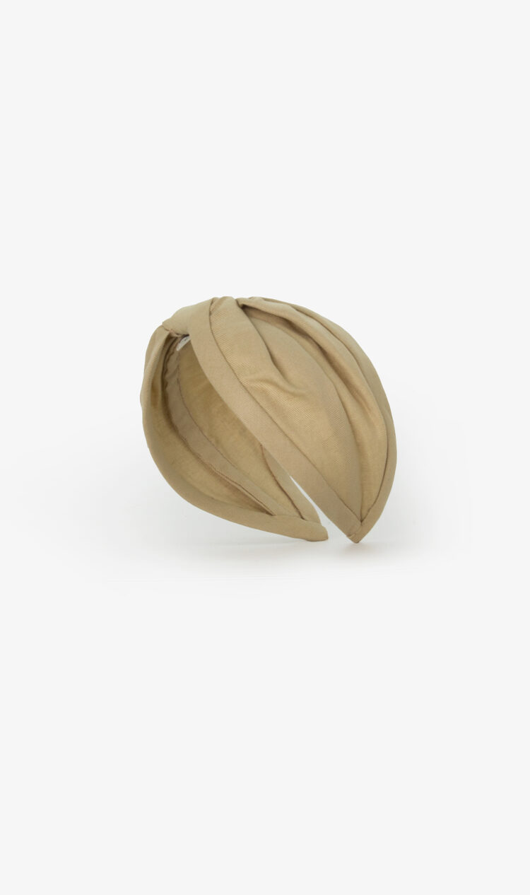 Pale olive headband