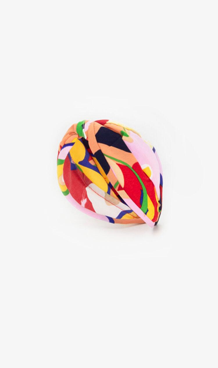 Rainbow abstract headband