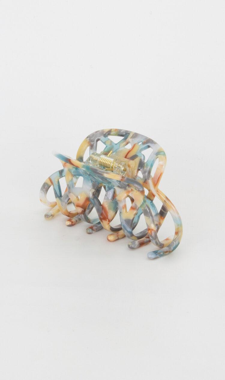 Seashore lattice hair claw