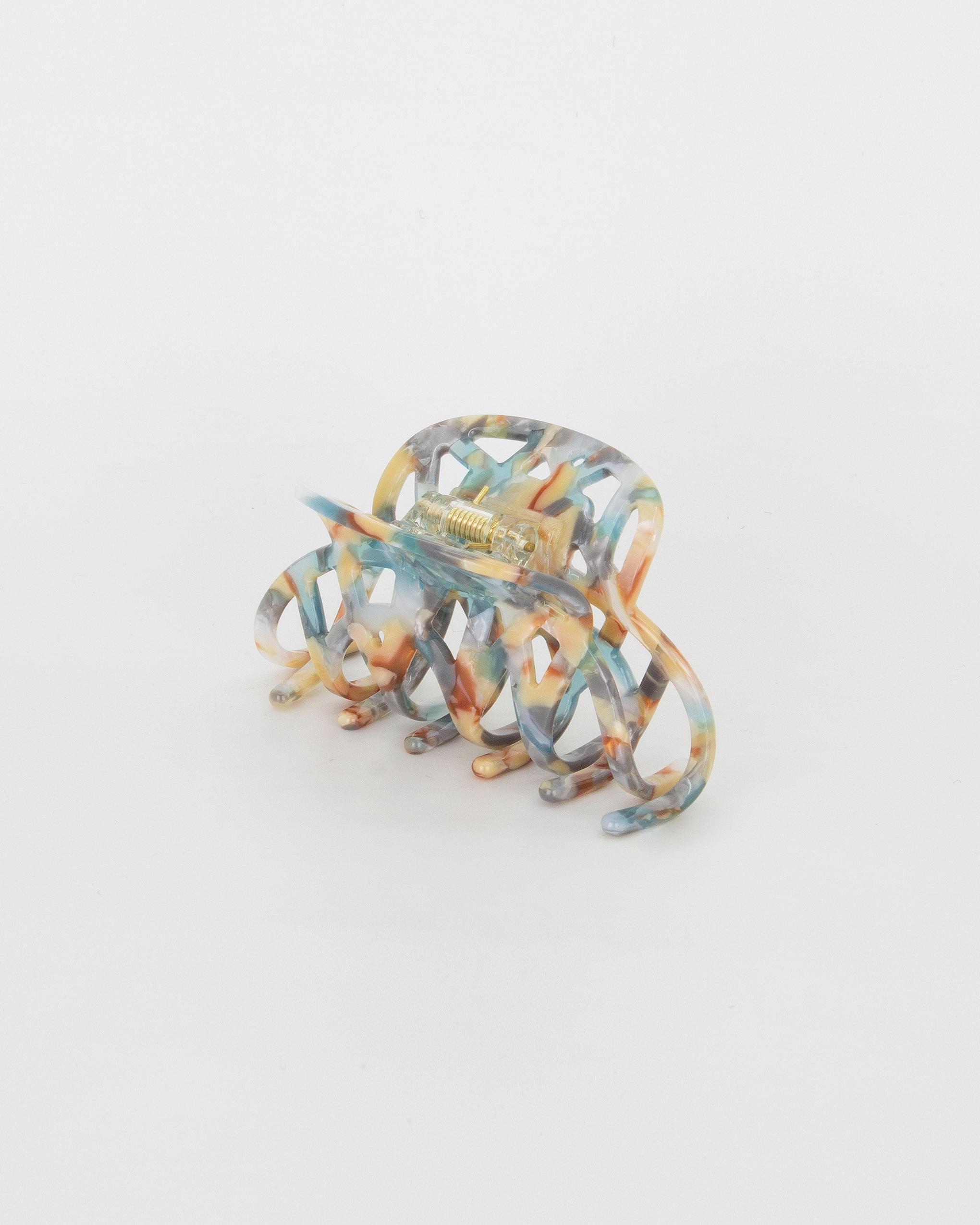Emin + Paul seashore lattice hair claw.