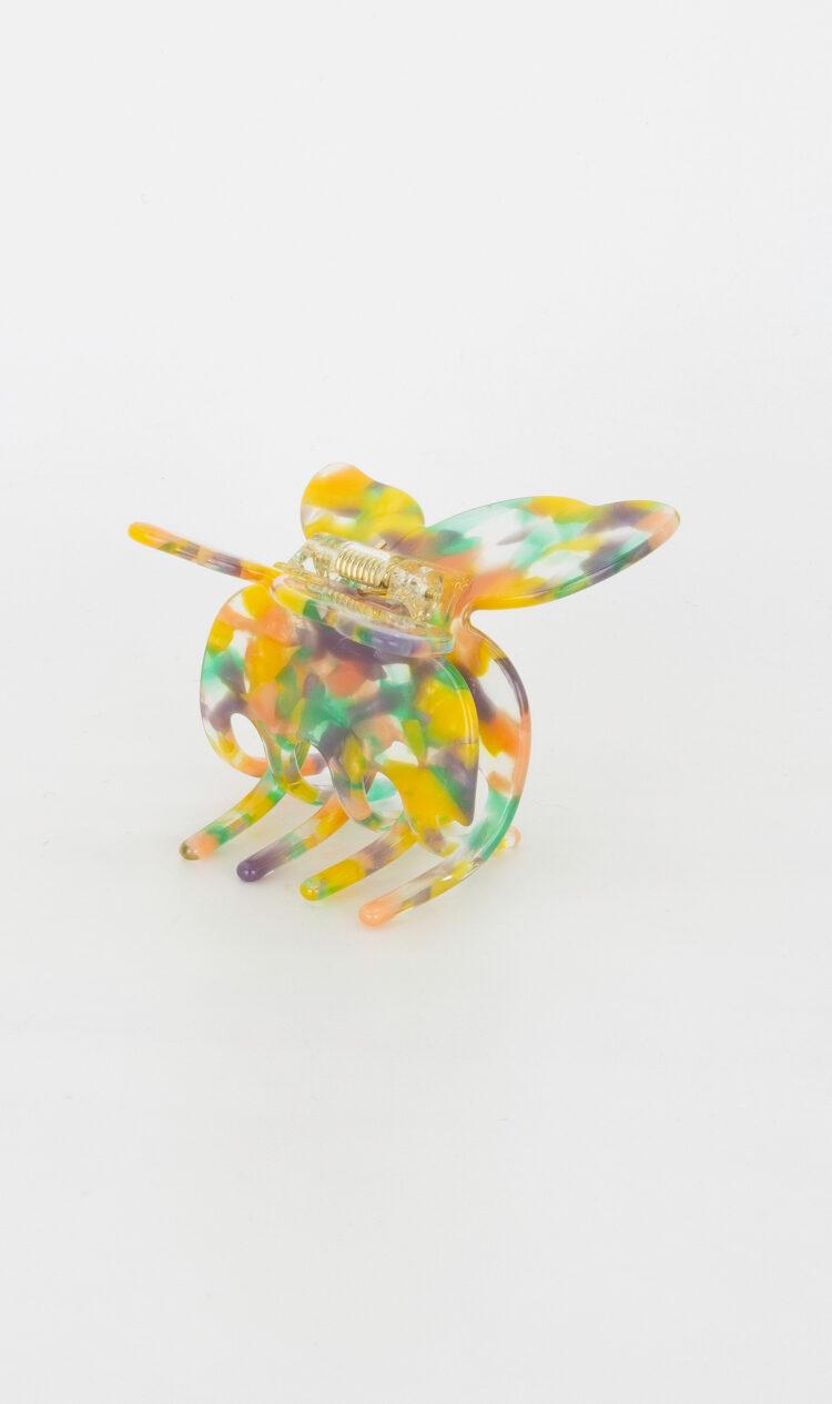 Springtime butterfly hair claw