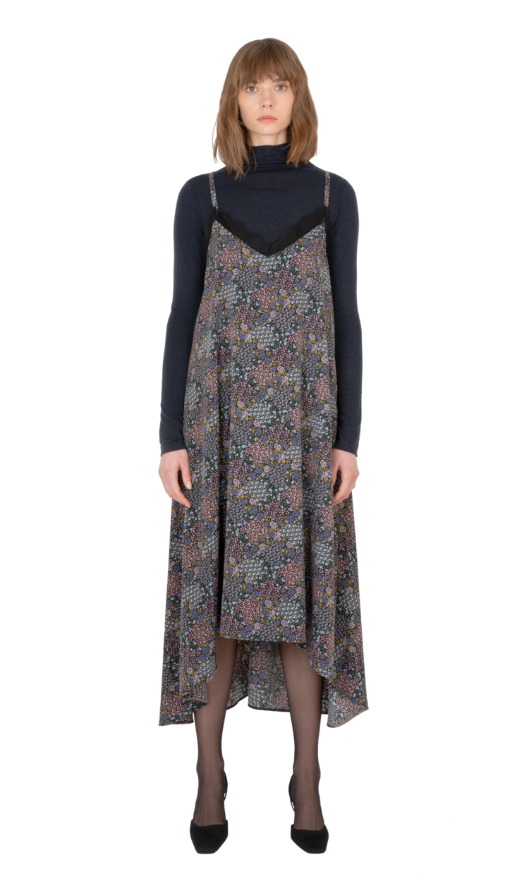 Multi strappy dress