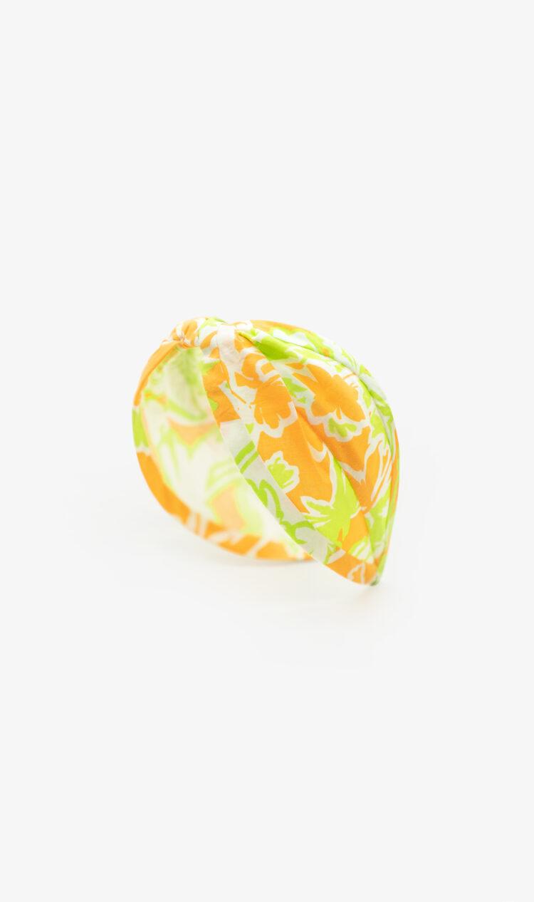 Citrus floral headband