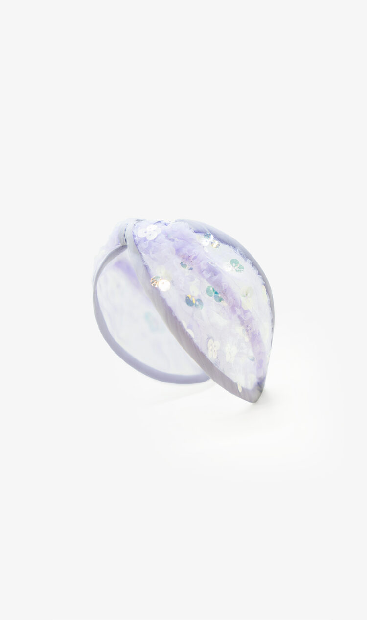 Lilac sequin headband