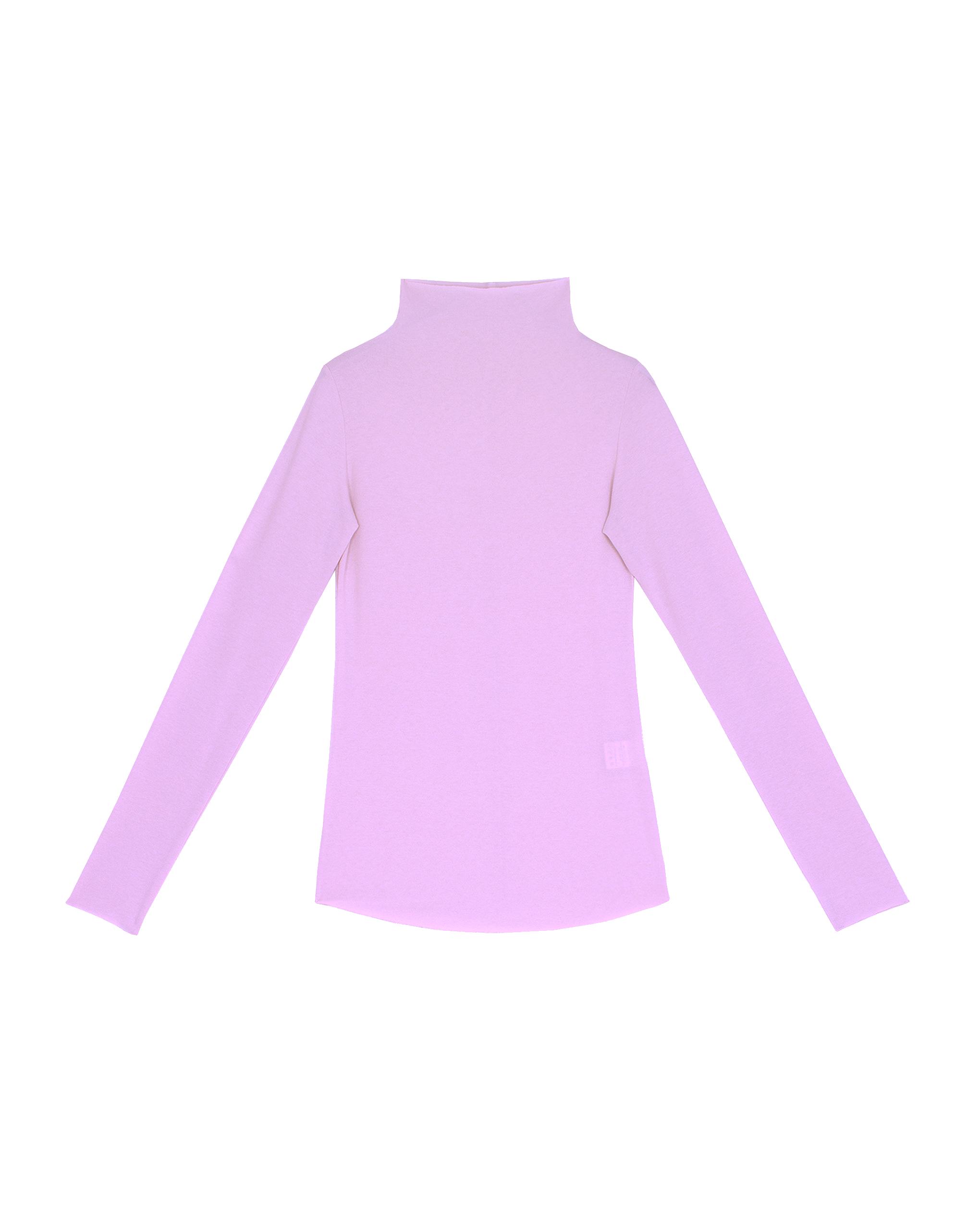 EMIN + PAUL violet second skin wool blouse.