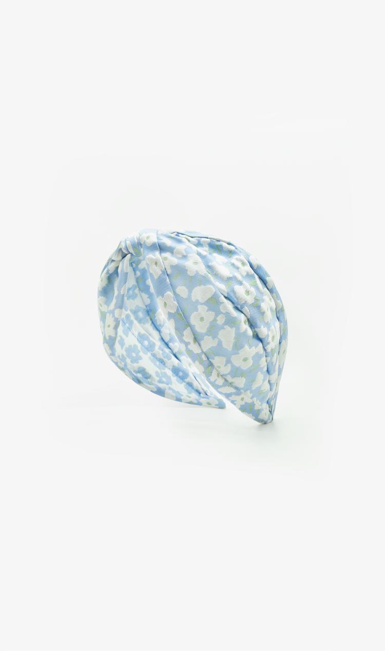 Baby blue daisy headband