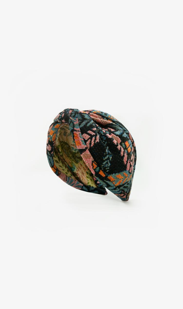 Peach dragonfly headband