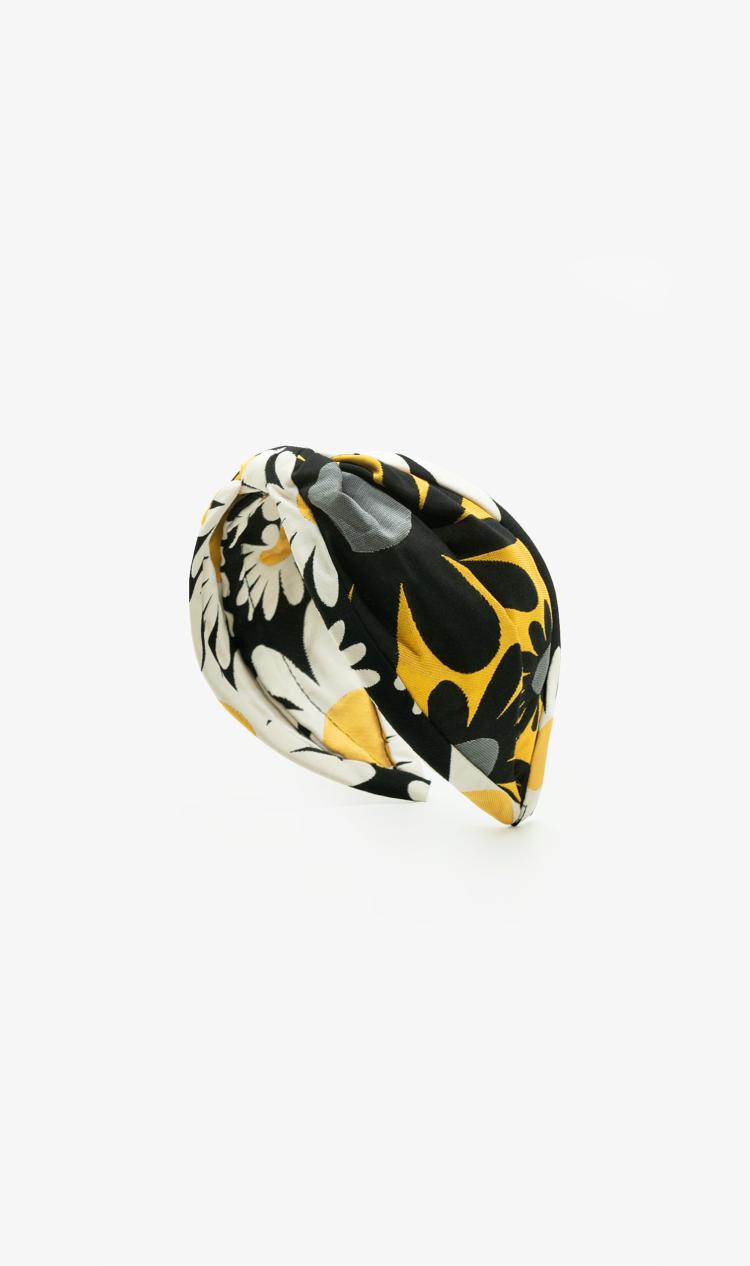 Pop art daisy headband